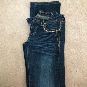 Blinged jeans!